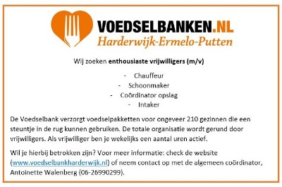 vacatures voedselbank